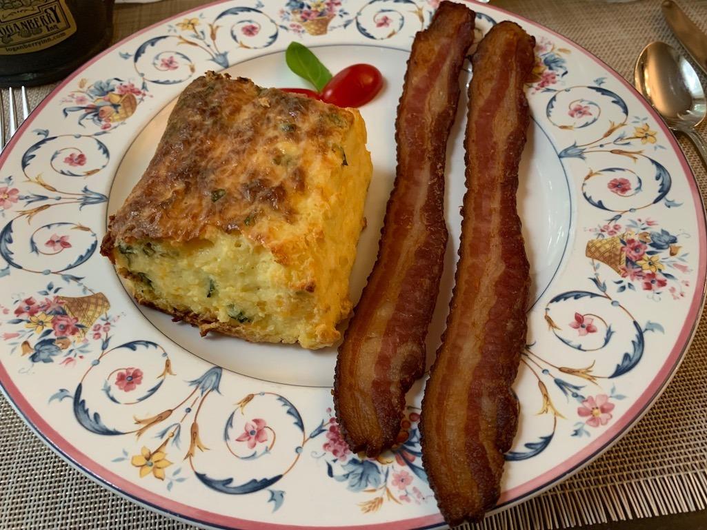 Breakfast at Loganberry Inn Fulton Missouri Central Missouri