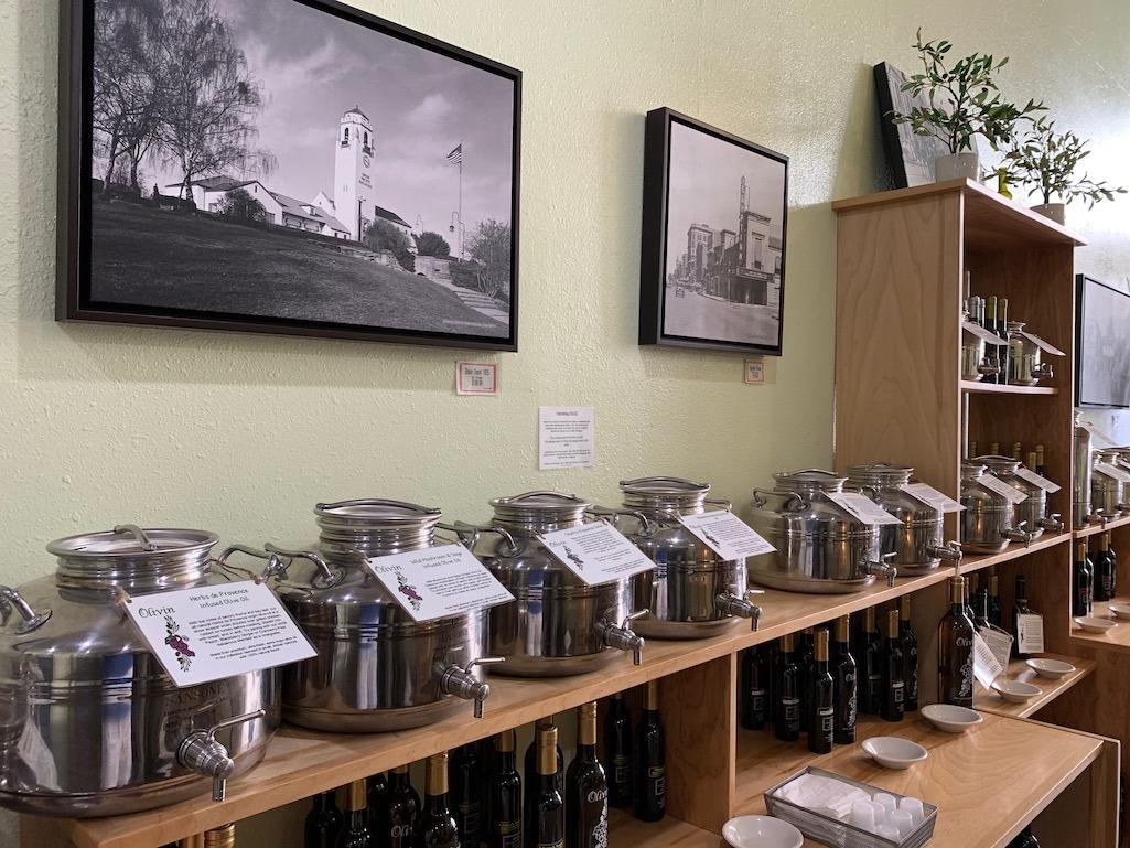 Olivin Olive Oil and Vinegar Tap Room Boise Idaho
