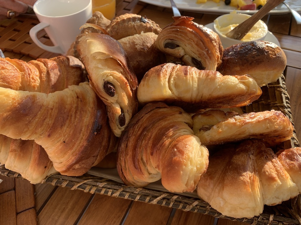 Croissants and Pain au chocolat European Waterways