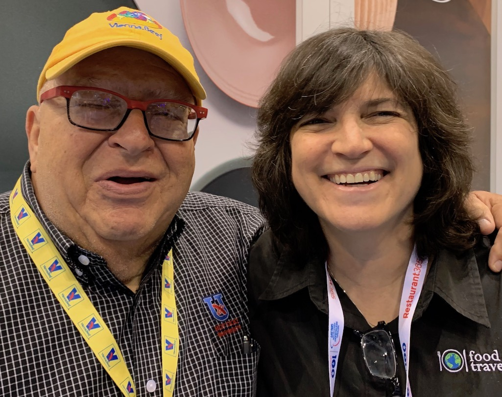 Diana Laskaris and Mark Reitman from Vienna Beef