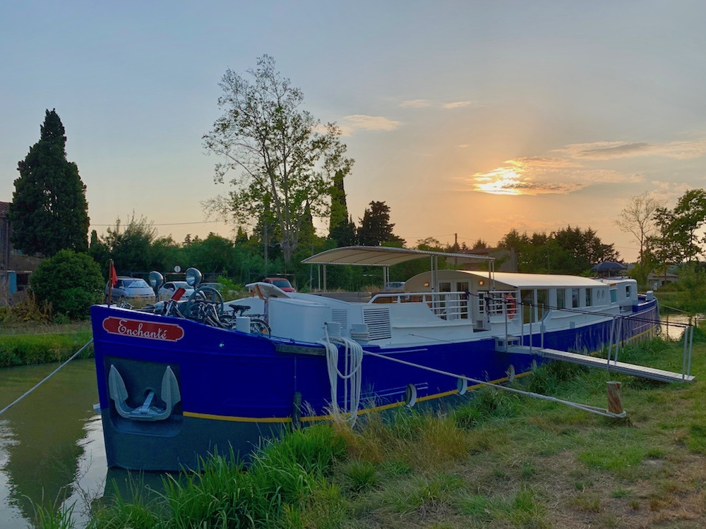 Enchante At Sunset European Waterways
