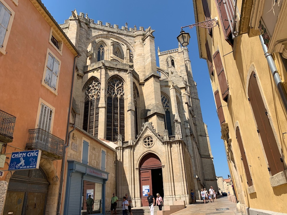 Exploring the streets of Narbonne
