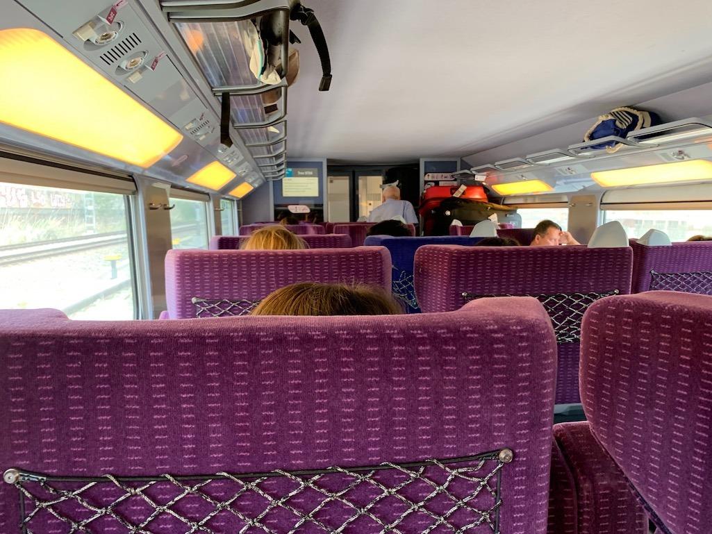 Rail Europe Comfortable Seating
