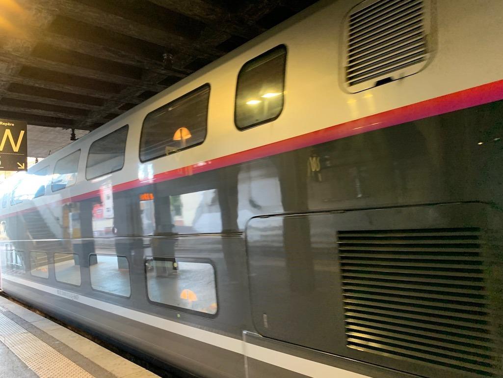 Rail Europe Double Decker Train