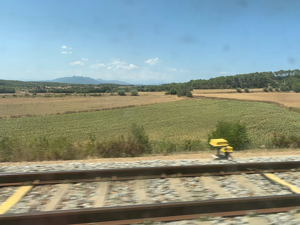 Small Towns in France on Rail Europe Review