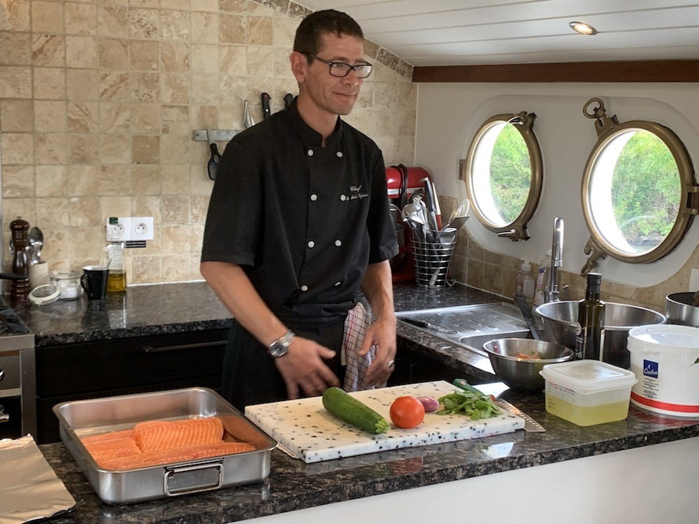 Chef Cooking Lessons Enchante European Waterways