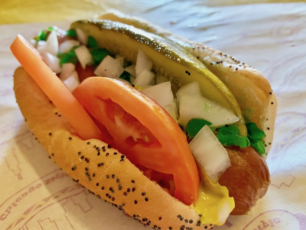 The Classic Chicago Hot Dog from Vienna Beef