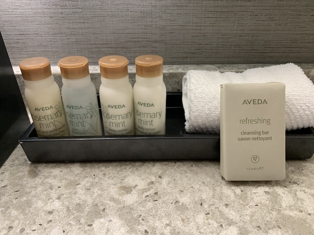 Aveda Products Renaissance Dallas at Plano Legacy West Hotel