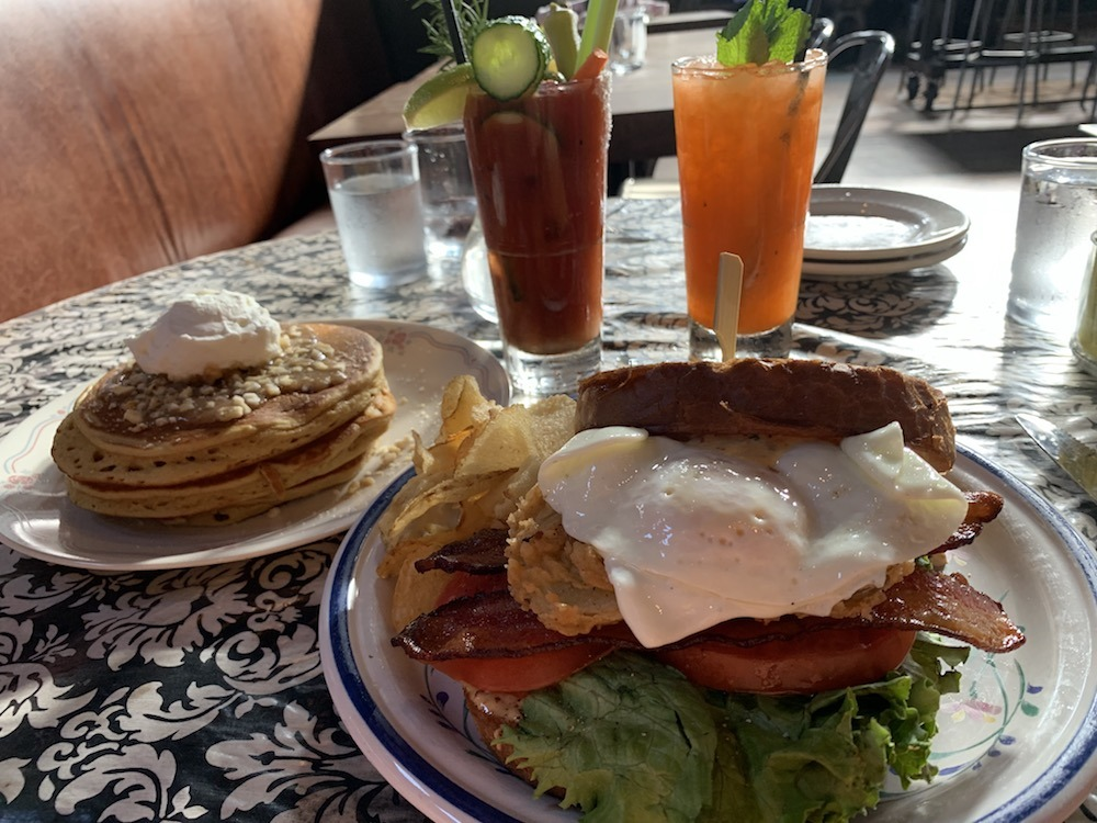 Brunch at Whiskey Cake plano texas
