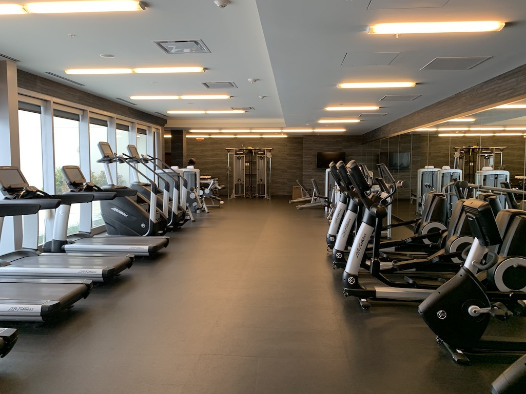 Fitness Room Renaissance Dallas at Plano Legacy West Hotel