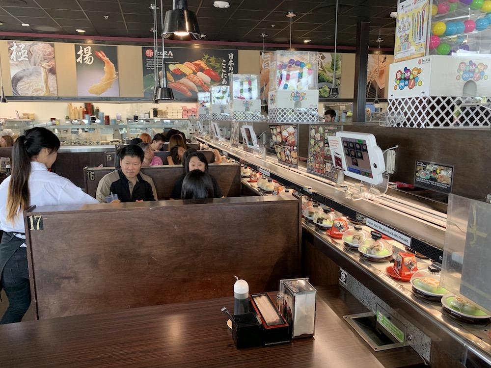 Kura Revolving Sushi Bar Plano Texas