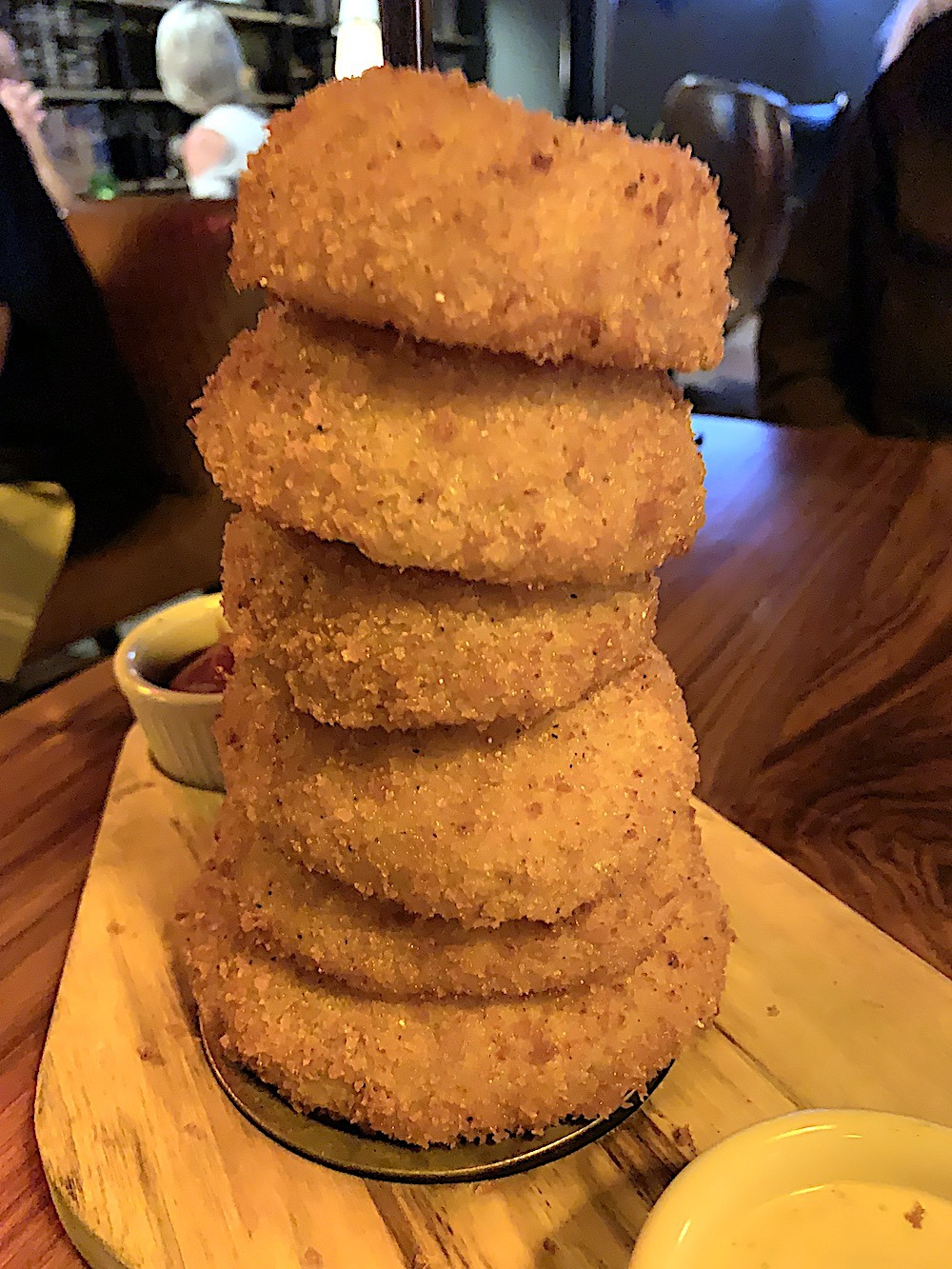 Onion Ring Tower at Haywire