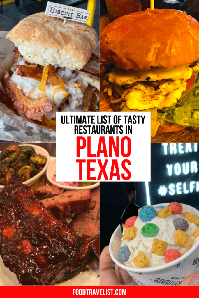 Ultimate List of Tasty Restaurants in Plano Texas