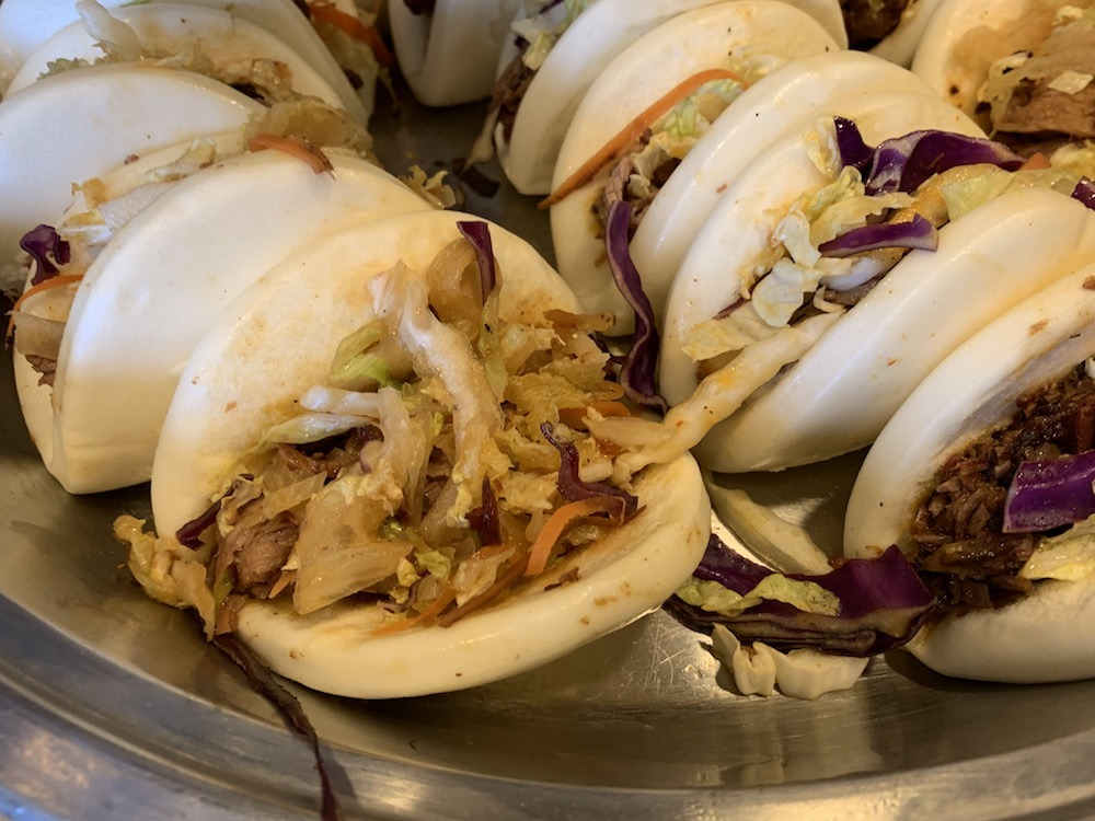 Pork Buns at the Renaissance Dallas at Plano Legacy West Details