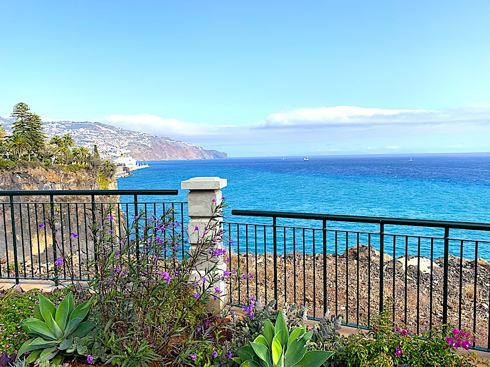 View from Les Suites at The Cliff Bay Madeira Portugal