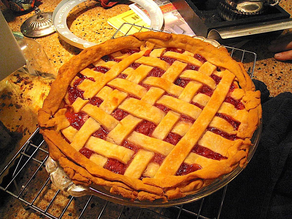 Grandmas Cherry Pie