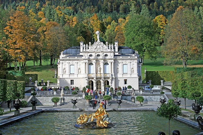 Linderhof Palace Oberammergau Germany