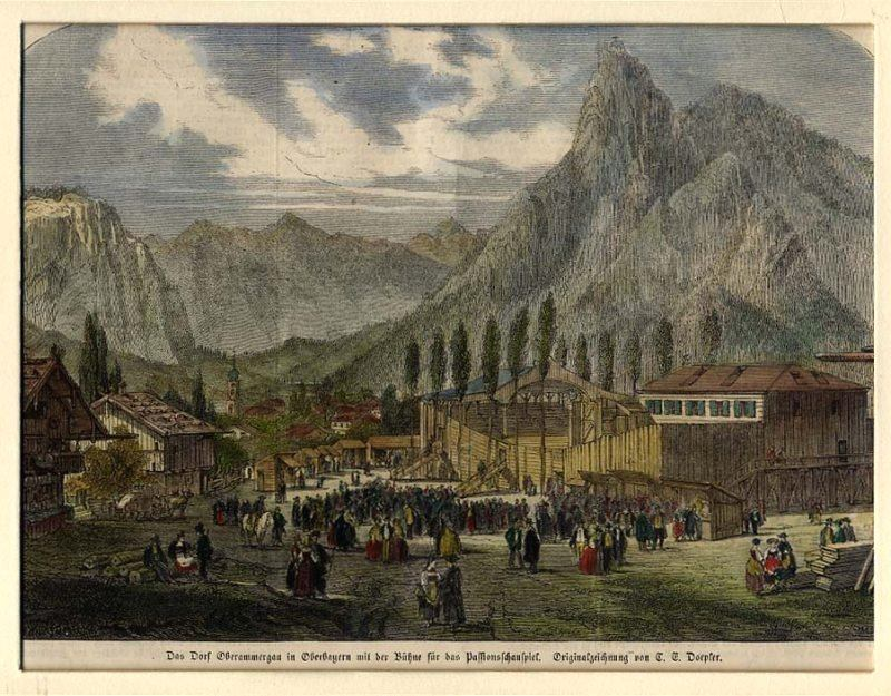 1860 Production Oberammergau