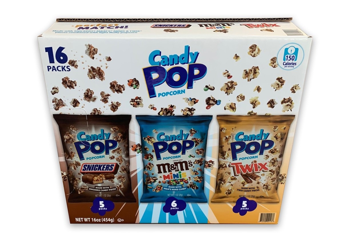 Candy Pop Corn Variety Pack Sams Club