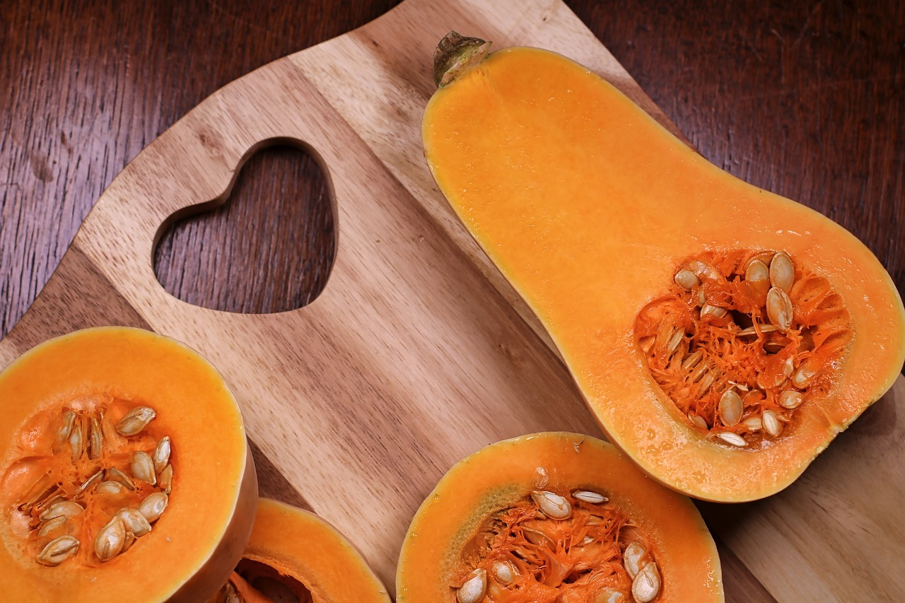 Cut And Clean Your Butternut Squash