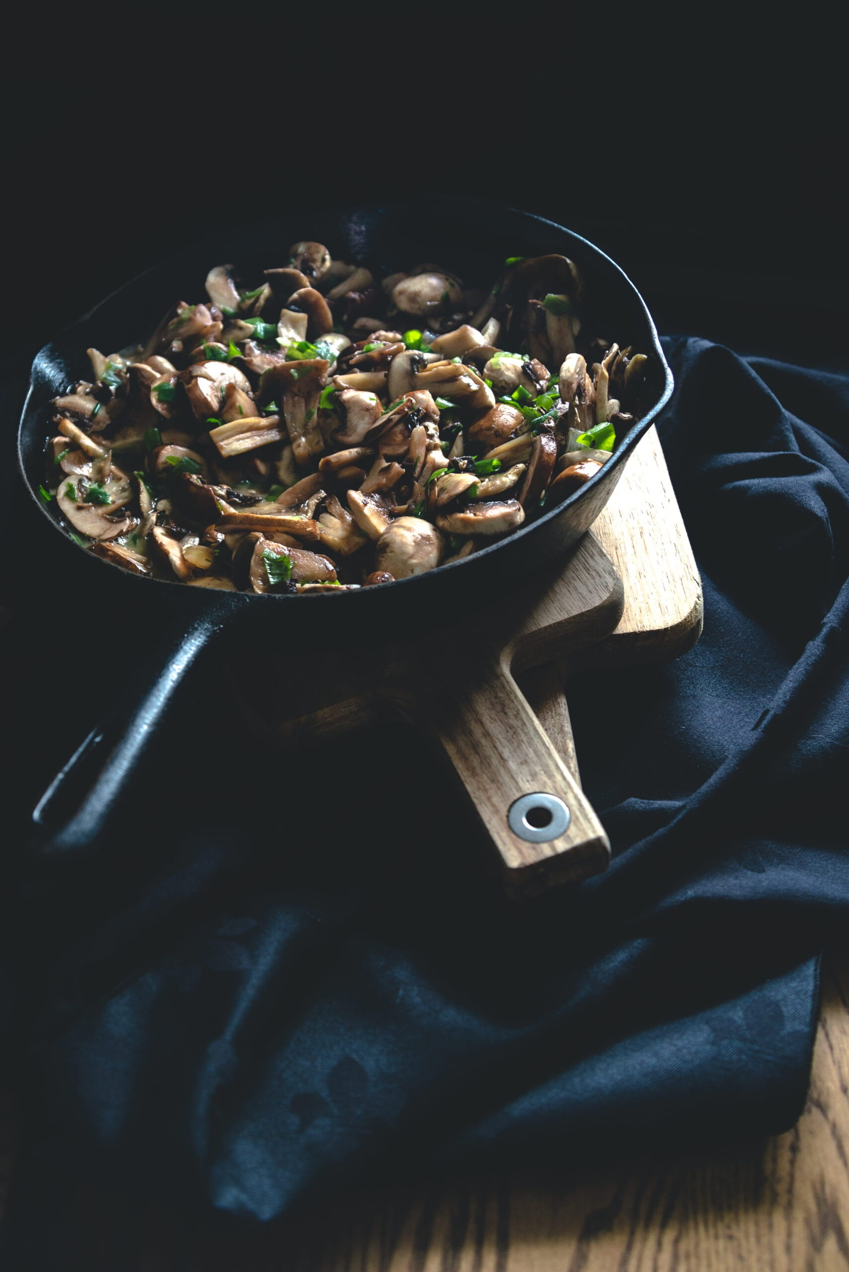 Sautée Mushrooms