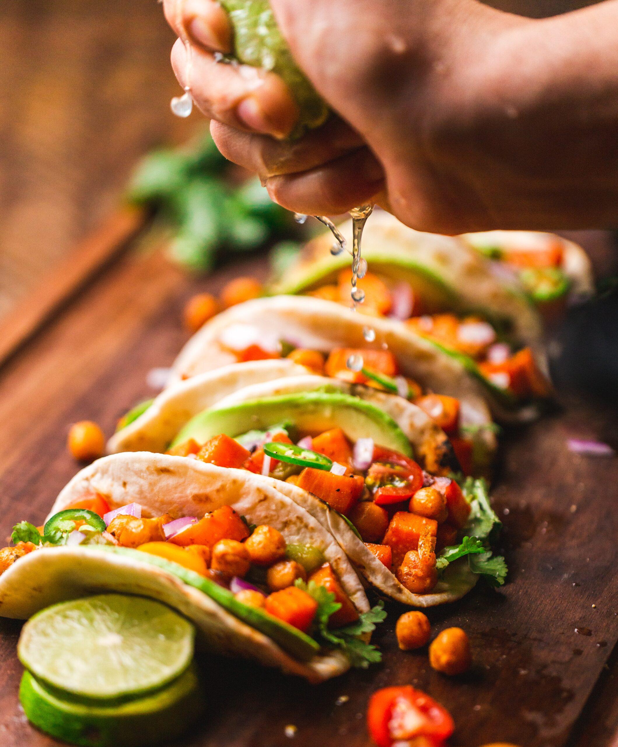 Squash Veggie Tacos