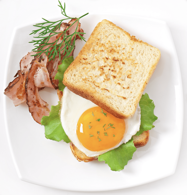 A Classic Fried Egg Sandwich
