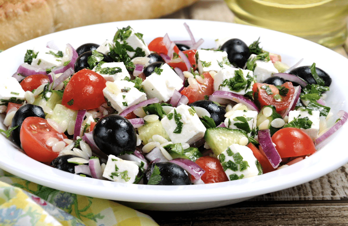Add It To A Greek Salad
