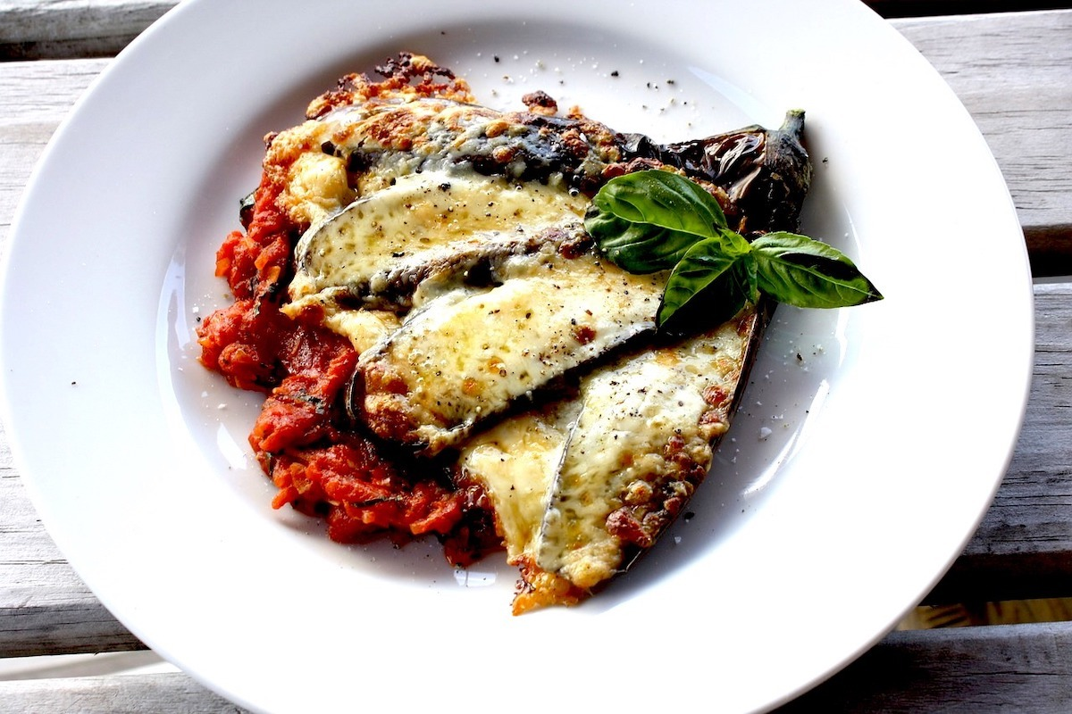 Baby Eggplant Parmesan