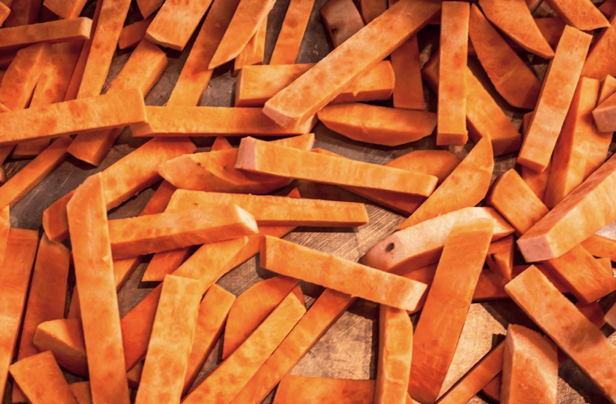 Bake Sweet Potato Fries In Oven