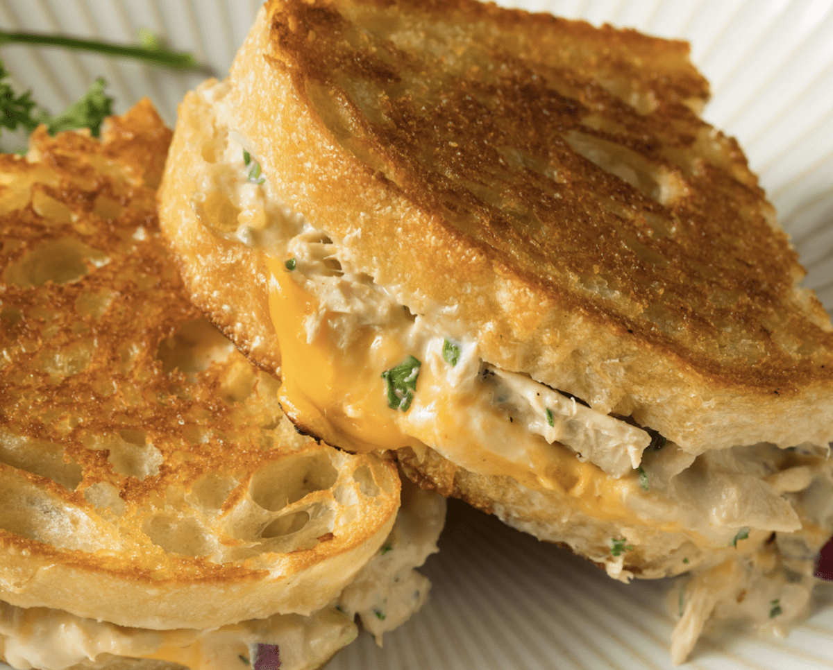 Canned Chicken Melt