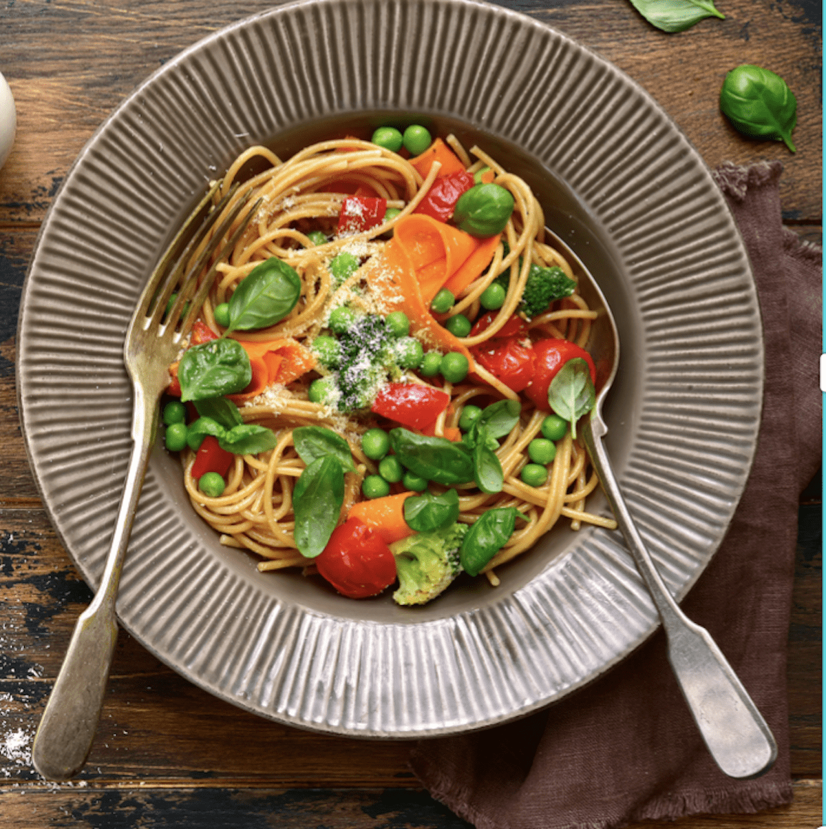 Delicious Pasta With Veggies