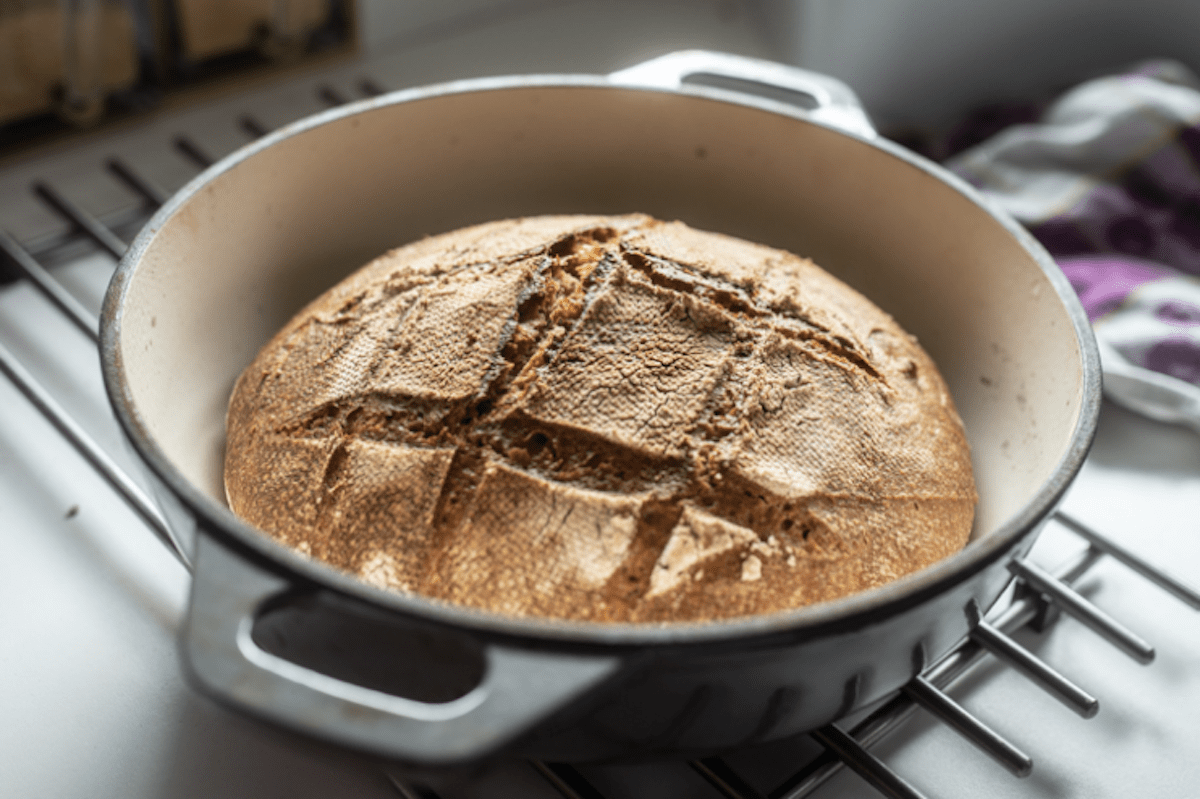 Dutch Oven Bread In Any Oven Safe Pot