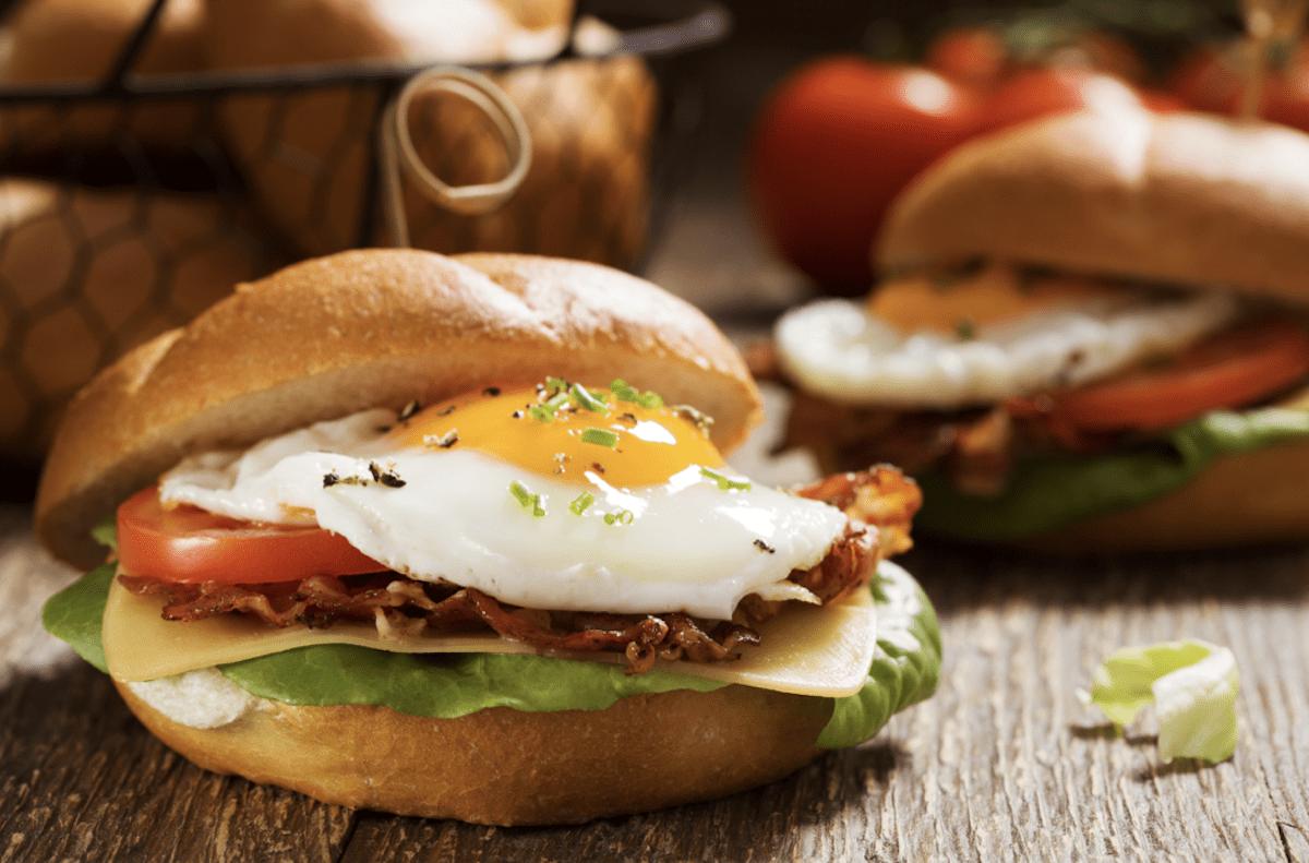 Gorgeous Fried Egg Sandwich