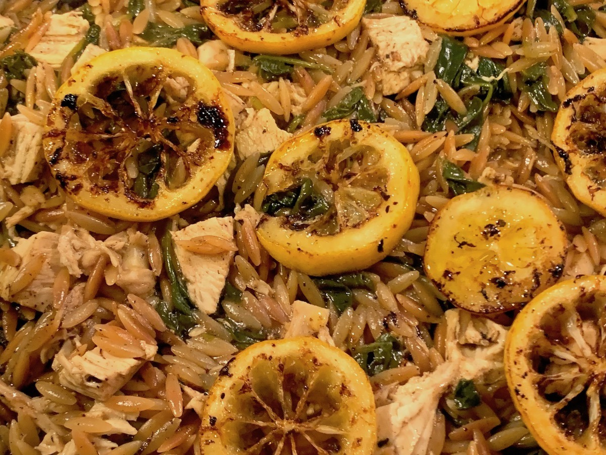 Greek Orzo With Lemon