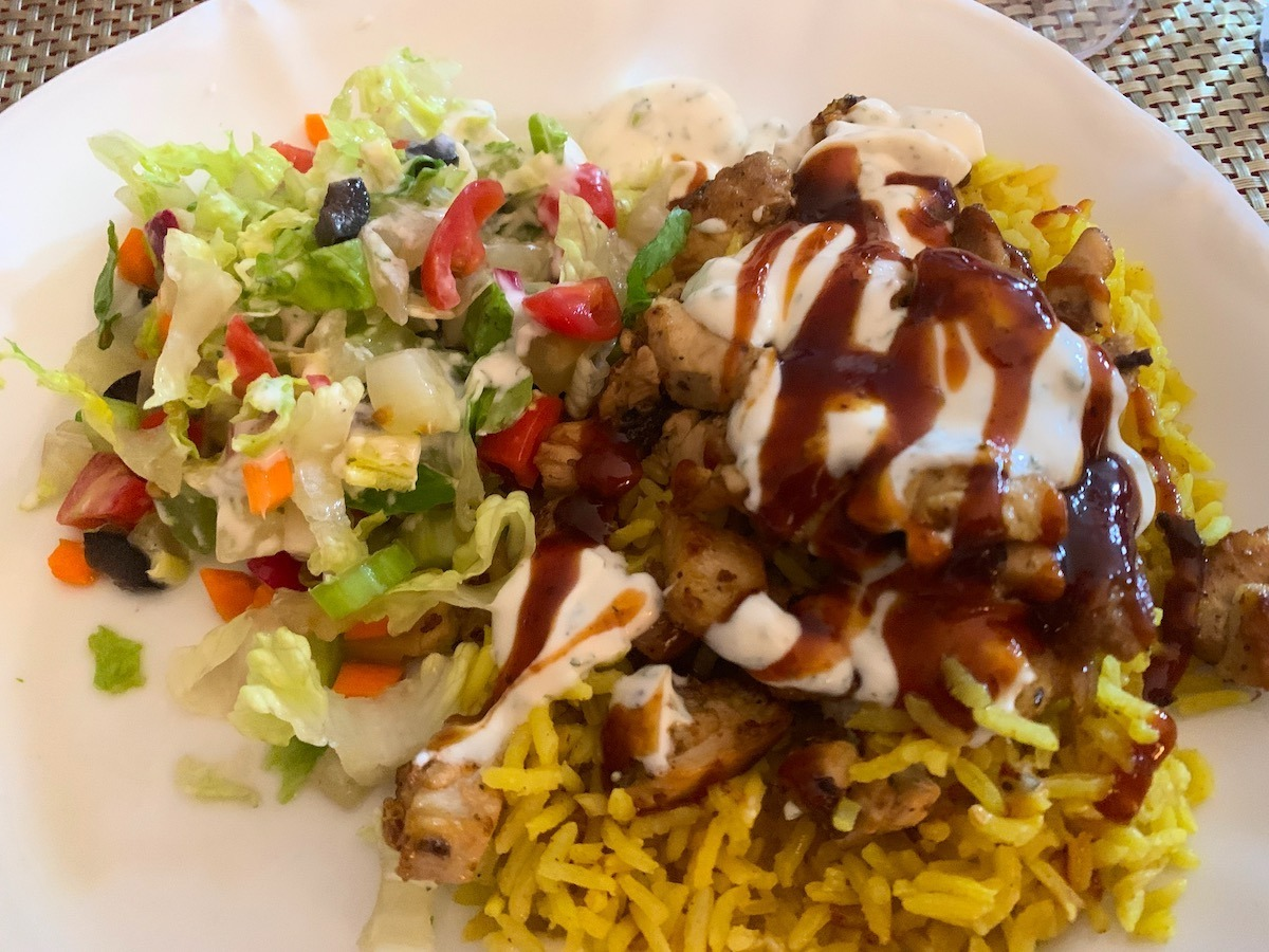 Homemade Halal Cart Chicken And Rice