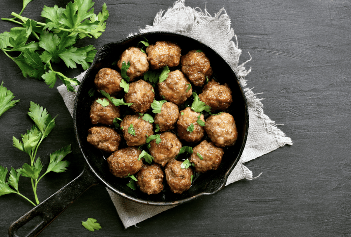 Keftedes Are A Classic Greek Dish