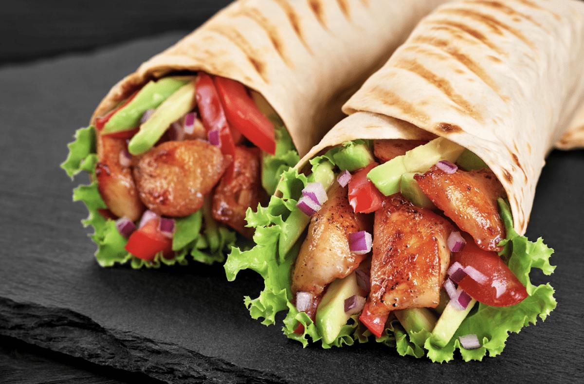 No Pita, No Problem- Use A Tortilla Or Wrap