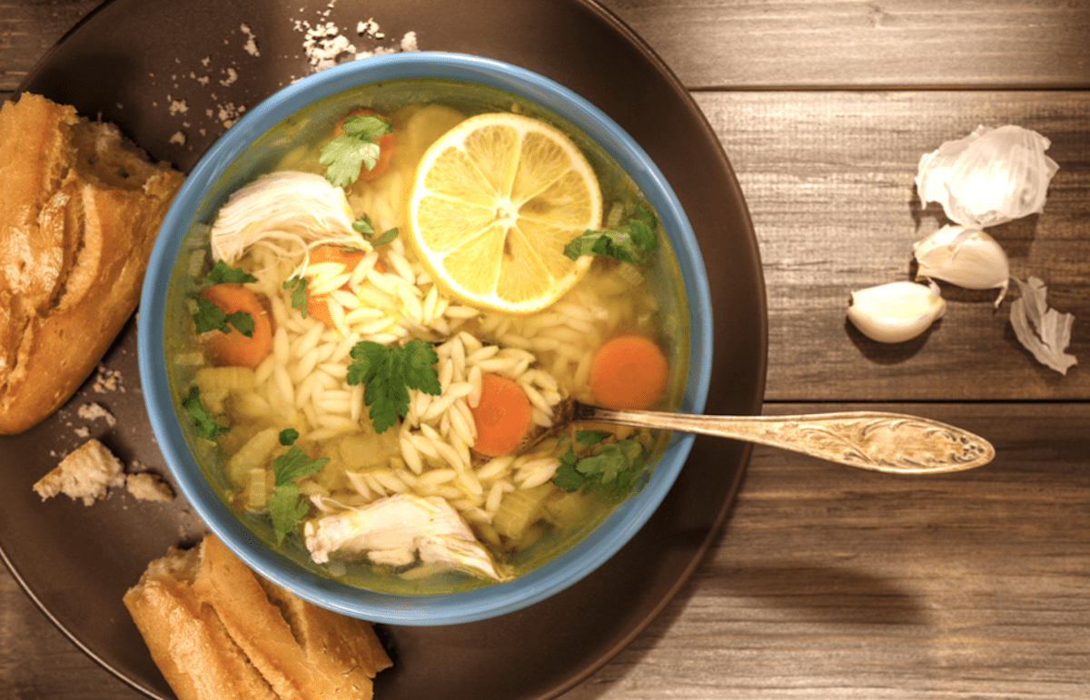 Orzo Pasta Chicken Soup