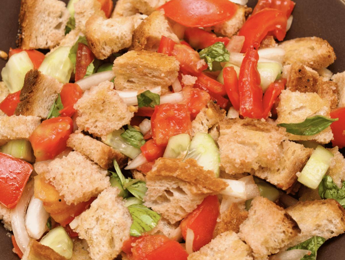 Panzanella Is A Bread Salad