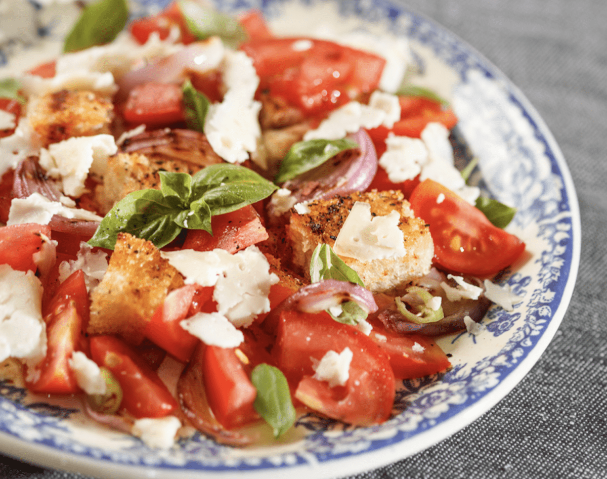 Toasted Bread Is Great For A Panzanella Recipe