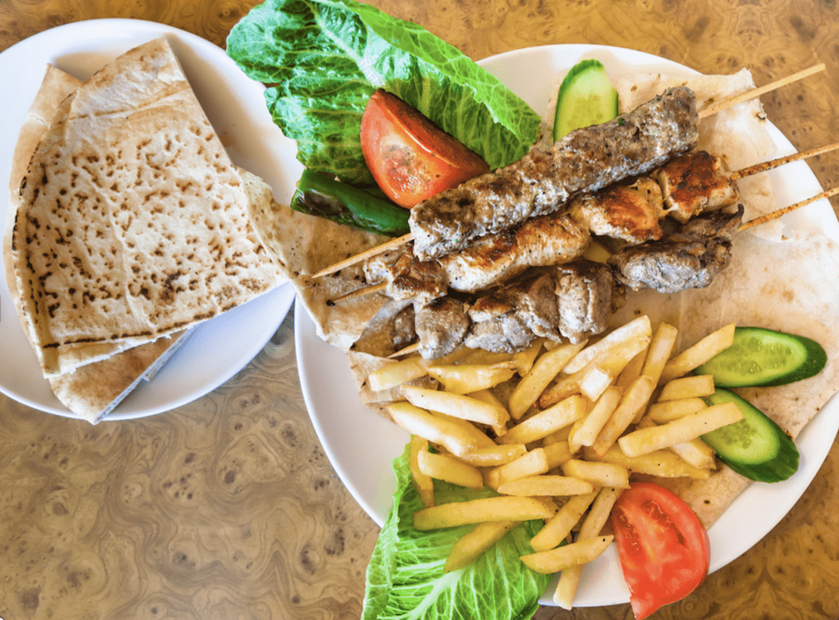 We Would Like Fries With That - And Pita