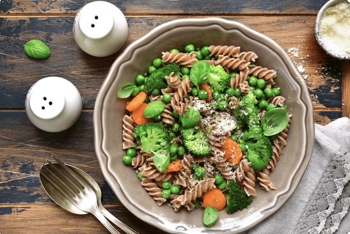 Whole Wheat Pasta Primavera