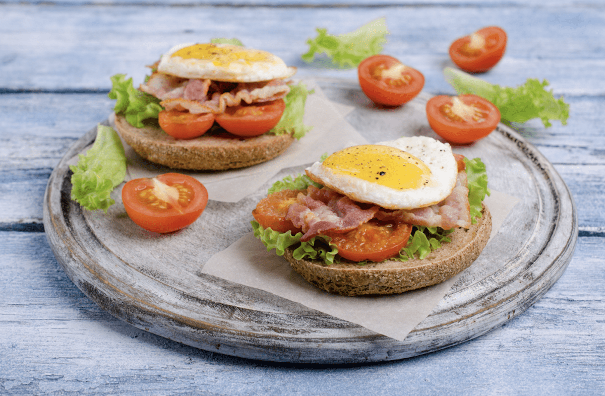 You Can Make Your Egg Sandwich Open Face