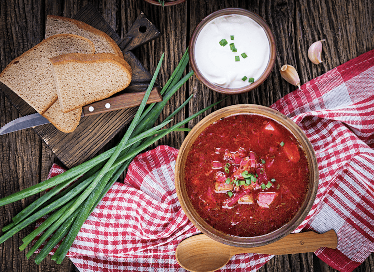 Beet Soup Makes a Great Meal