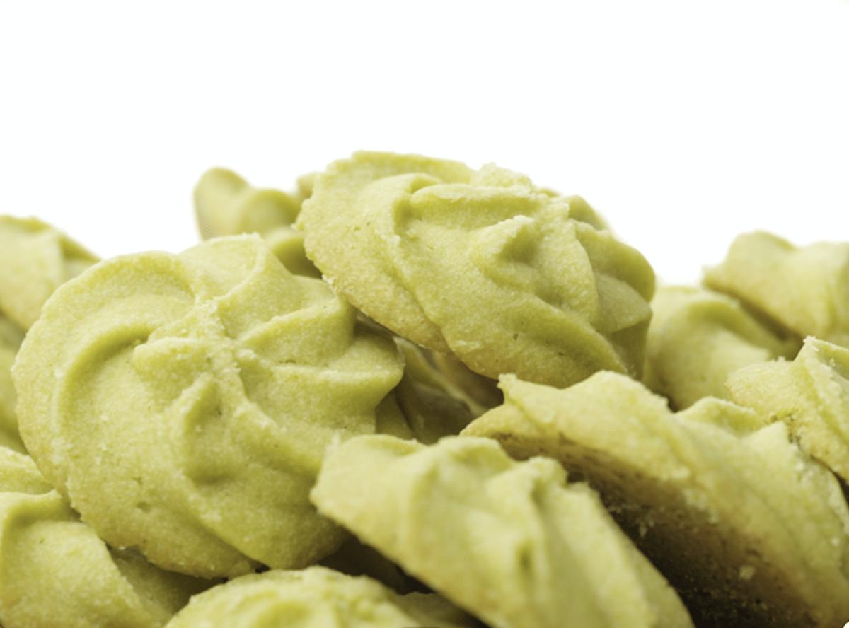 Buttery Matcha Green Tea Cookies