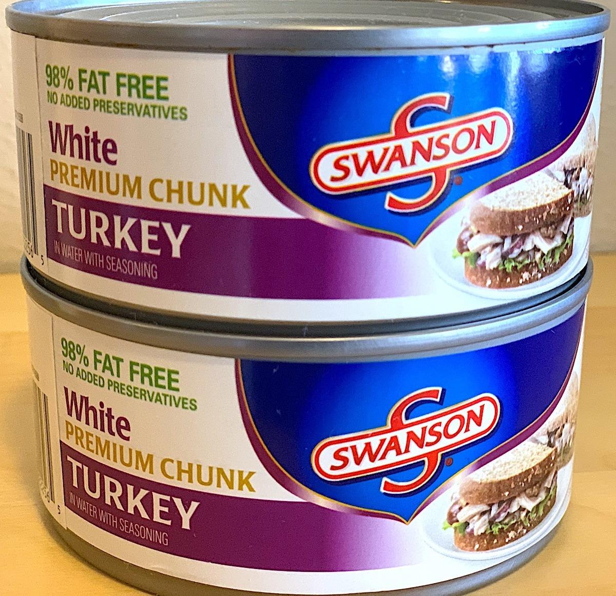 Canned Turkey Works Fine