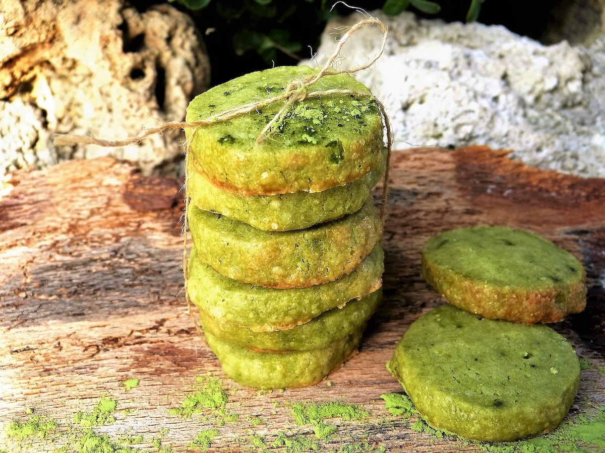 Delicious Matcha Cookies
