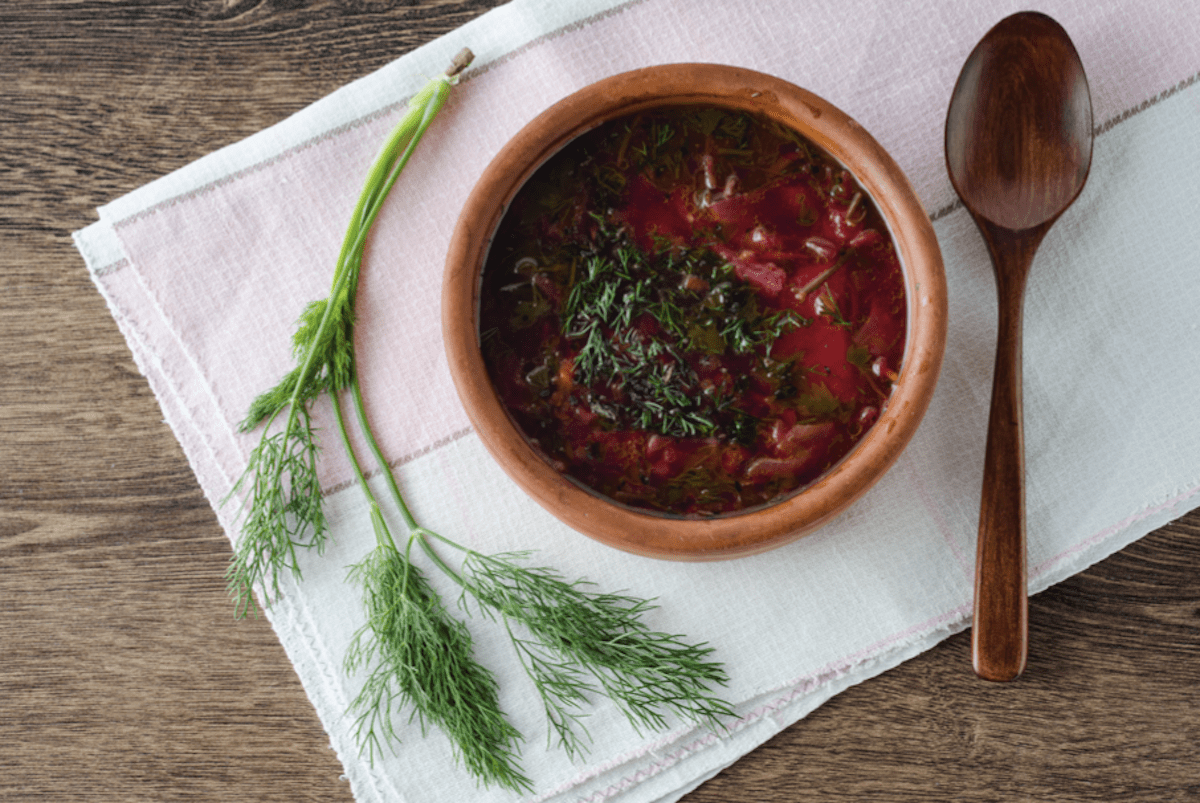 Dill Is A Great Herb For Beet Soup