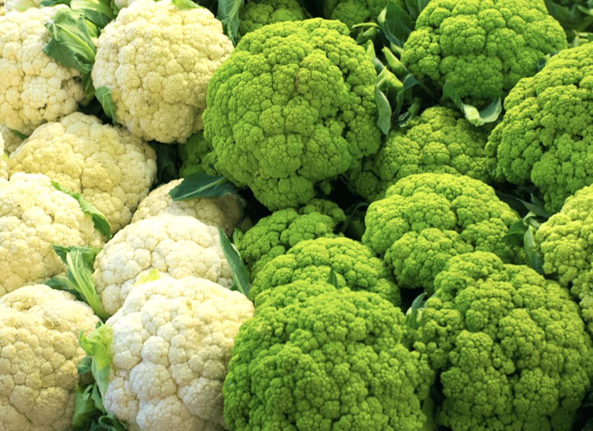 Fresh And Vibrant Cauliflower